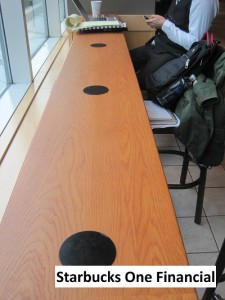 Powermat Project at Boston Starbucks
