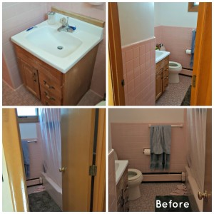 residential bathroom remodel in belmont ma